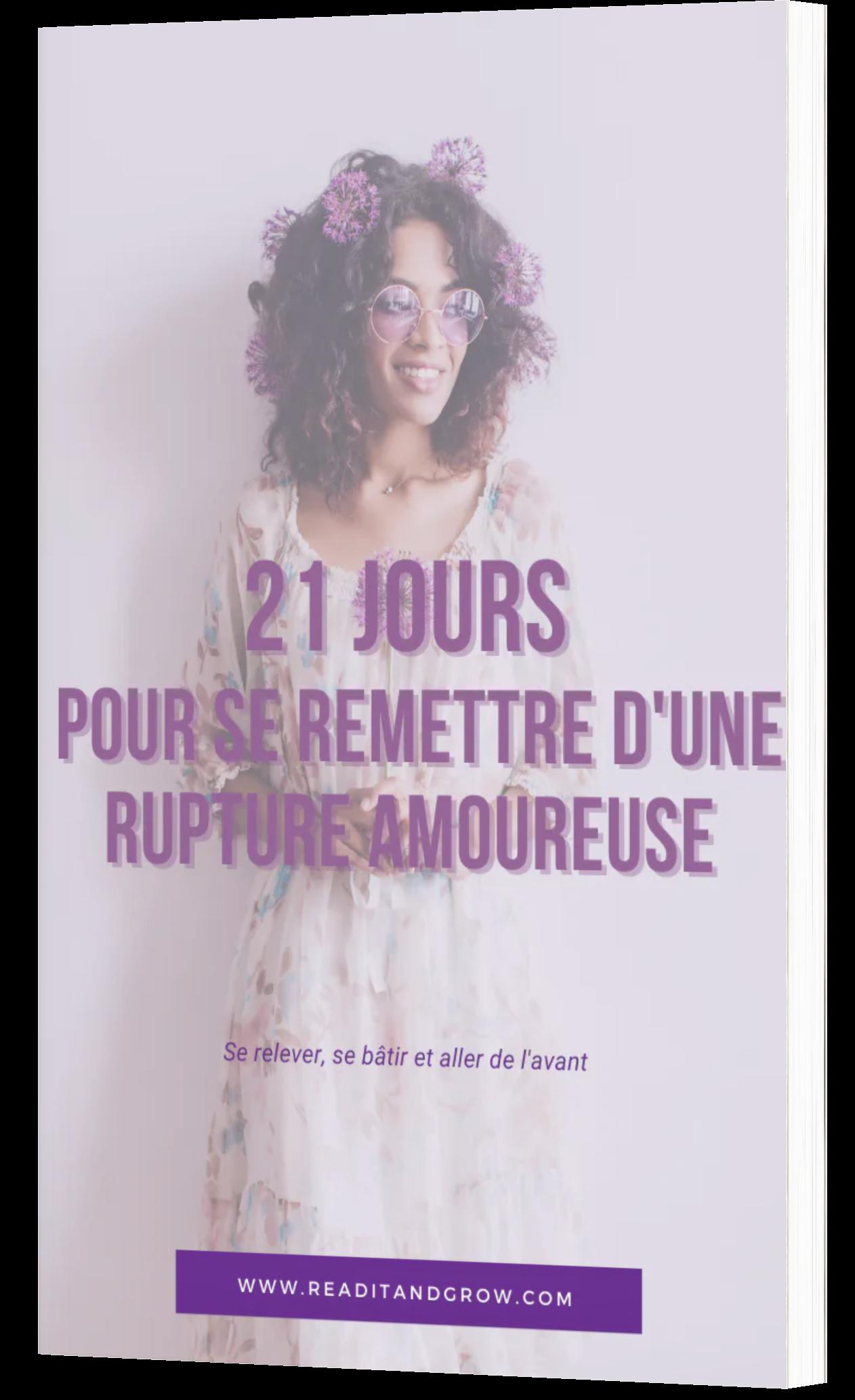 E-book 21 jours de prière pour se remettre d'une rupture amoureuse